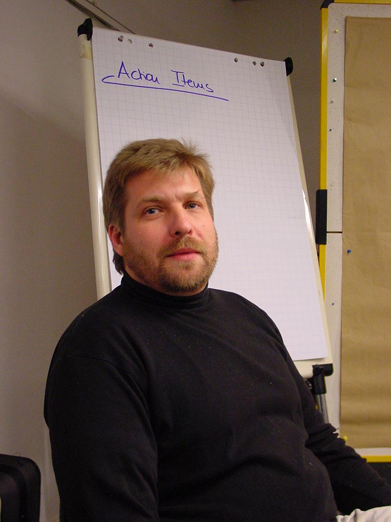 Coach Körg Rogalka aus Dortmund